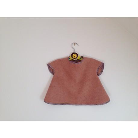 Bavoir à manches - tablier personnalisable pour bébé (6-30mois)