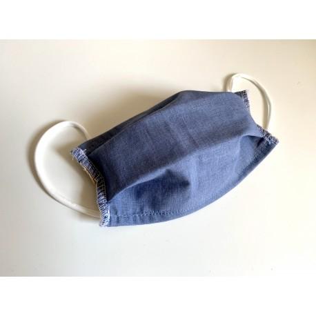 Masquillon enfant - uni - Blue jean