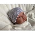 Bonnet maternité - gris - ancres